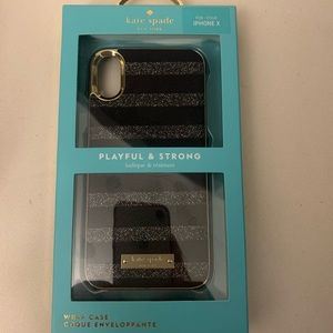 NEW iPhone X case. Kate Spade
